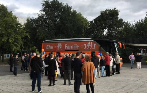 #BusderMeinungsfreiheit am 11.9.17 in Düsseldorf