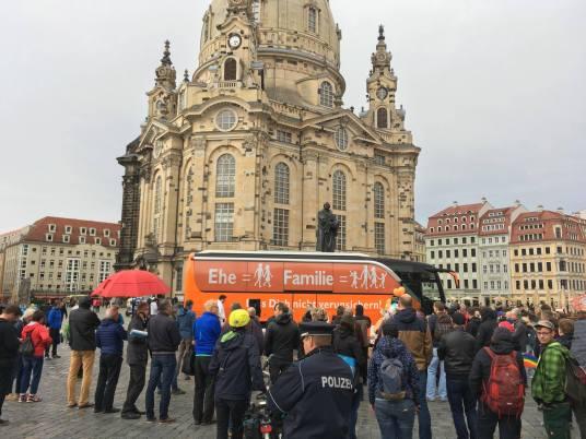 #BusderMeinungsfreiheit am 14.9.2017 in Dresden
