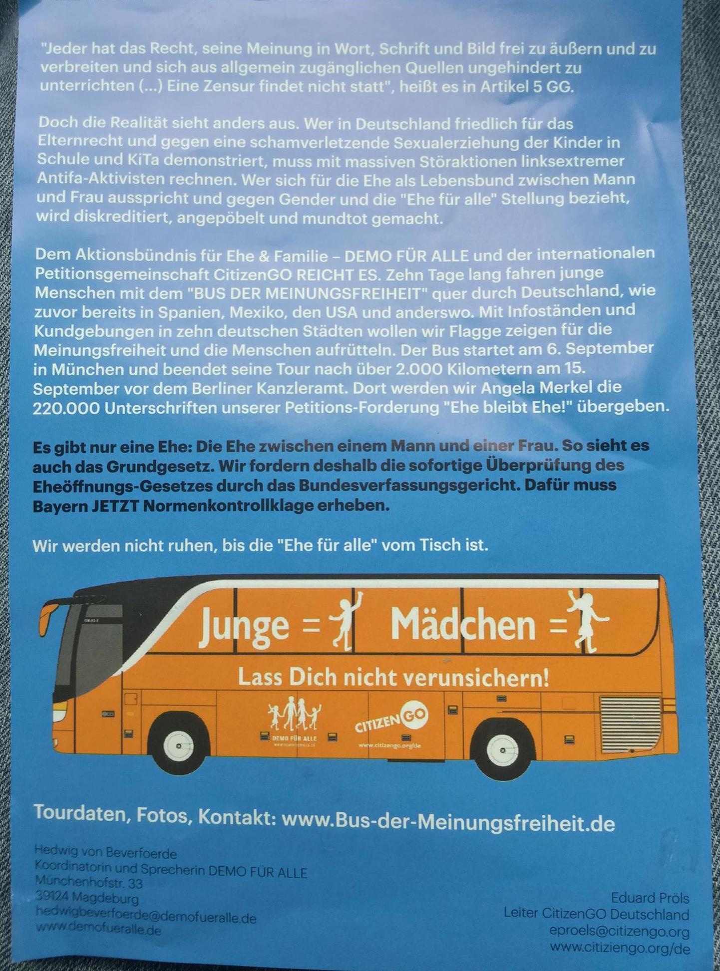 Bus Flyer Timiznceptzmusic