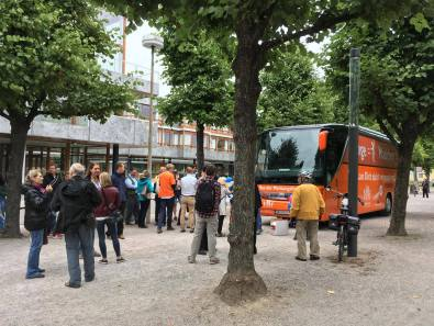 #BusderMeinungsfreiheit am 8.9.2017 in Karlsruhe