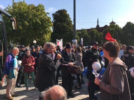 #BusderMeinungsfreiheit am 7.9.2017 in Stuttgart, Schloßplatz