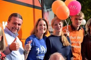 #BusderMeinungsfreiheit am 7.9.2017 in Stuttgart