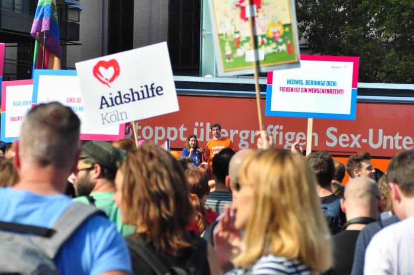 Bus der Meinungsfreiheit am 12.9. in Köln